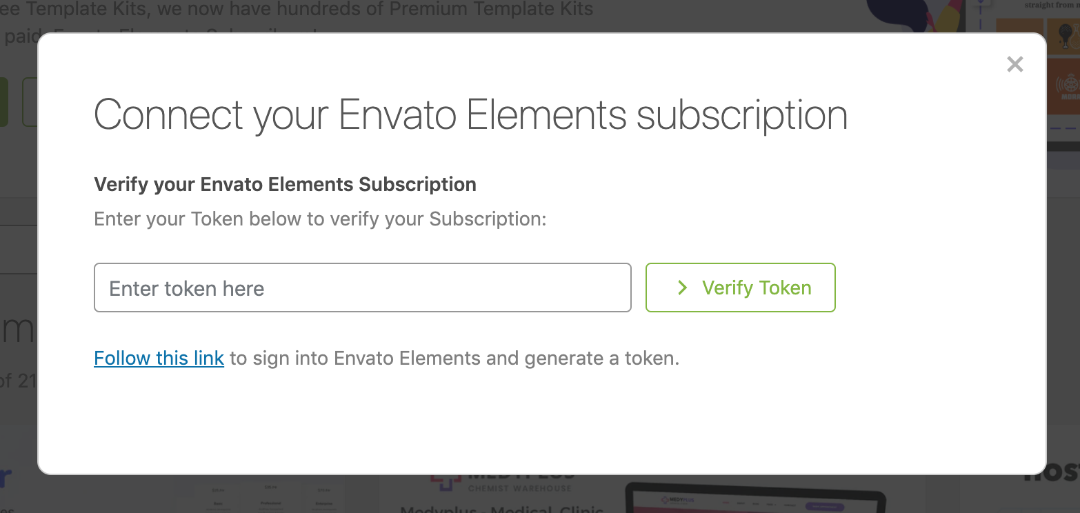 How To Use The Envato Elements WordPress Plugin V2 0 Envato Market Help Center