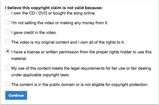 Buyers Guide to YouTube Content ID & Copyright Notices